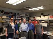 Wally Gilbert visit long lab